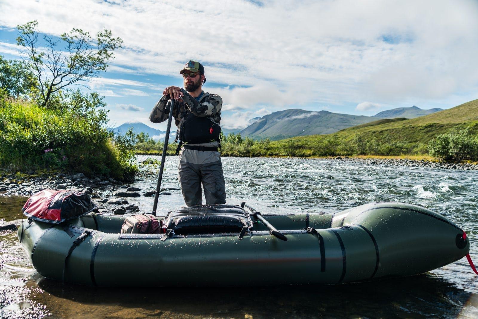 Alpacka Raft CEO Thor Tingey.