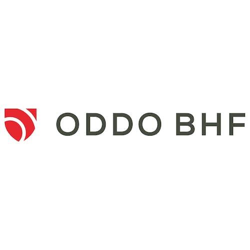 Logo du partenaire d'Alphacap : ODDO BHF, groupe financier franco-allemand.