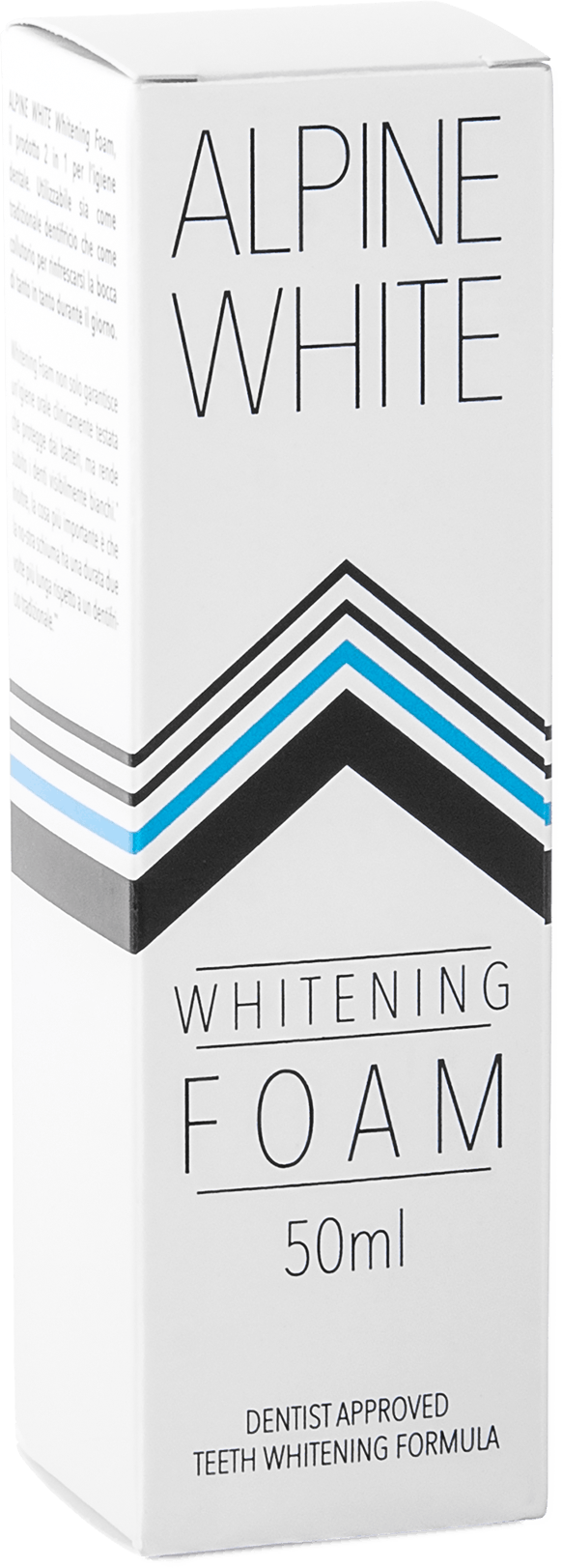 Alpine White Whitening Foam Product shot
