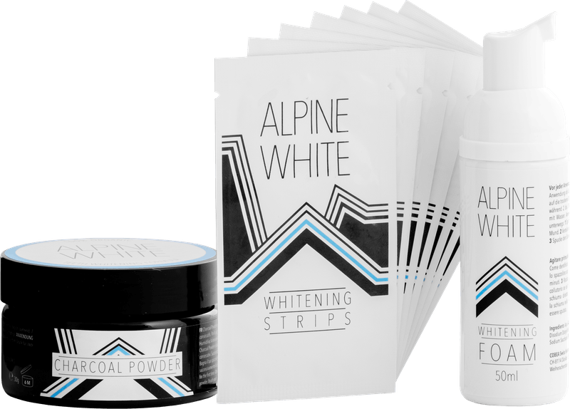 Alpine White Whitening Bundle Product Shot