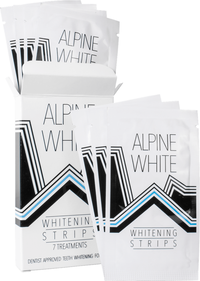 Alpine White Whitening Strips Product Shot