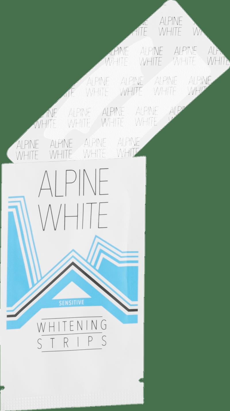 Alpine White Whitening Strips Sensitive Photo du produit