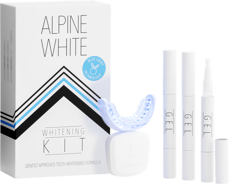 Alpine White Whitening Kit Productshot