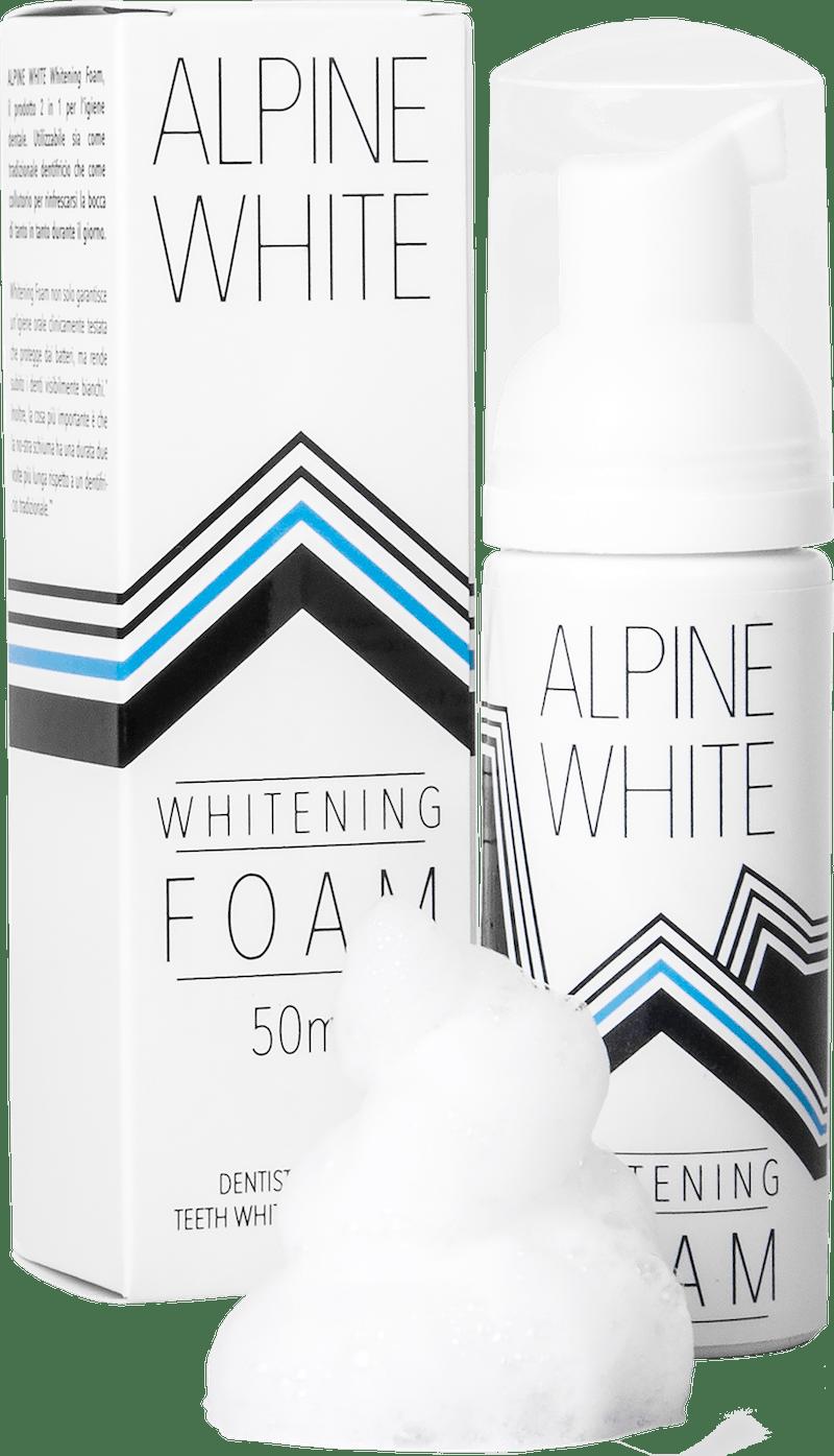 Alpine White Whitening Foam Image du produit