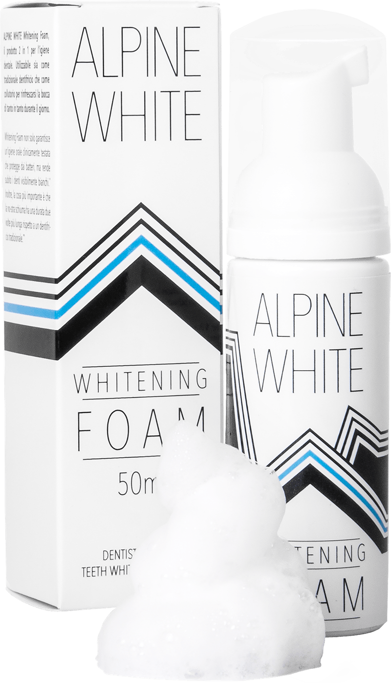 Alpine White Whitening Foam Product shot
