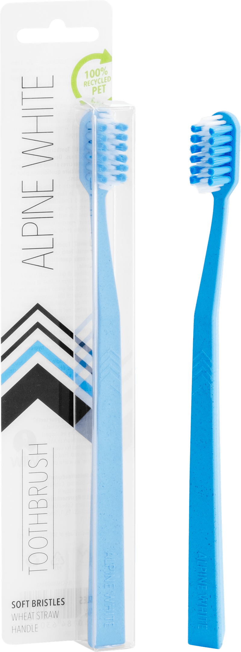 Alpine White Toothbrush Product Shot