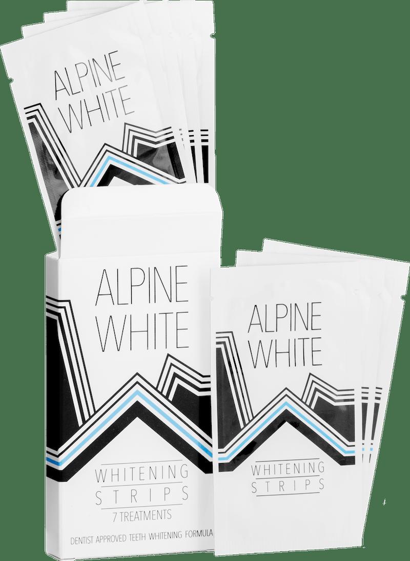 Alpine White Whitening Strips Produktbild