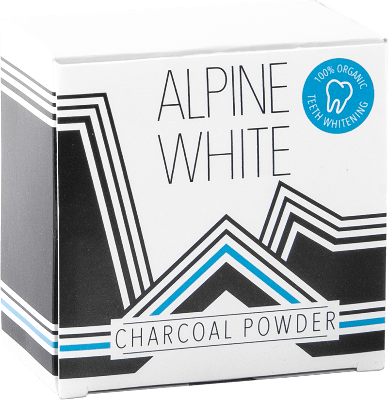 Alpine White Charcoal Powder Product Shot
