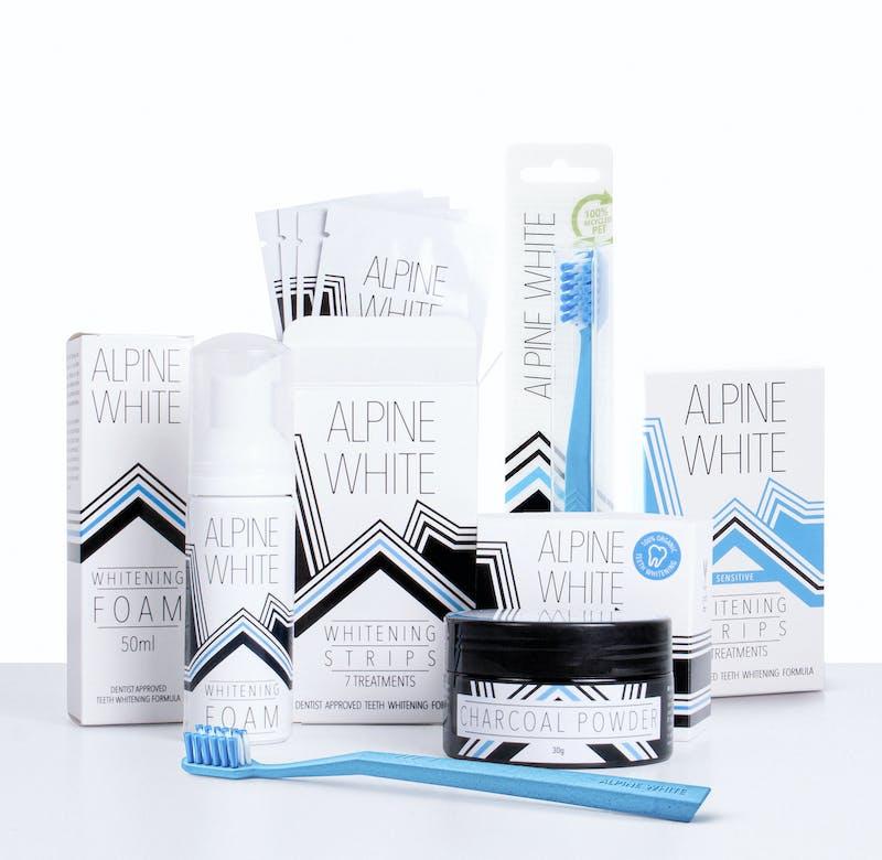 Alpine White Produktpalette
