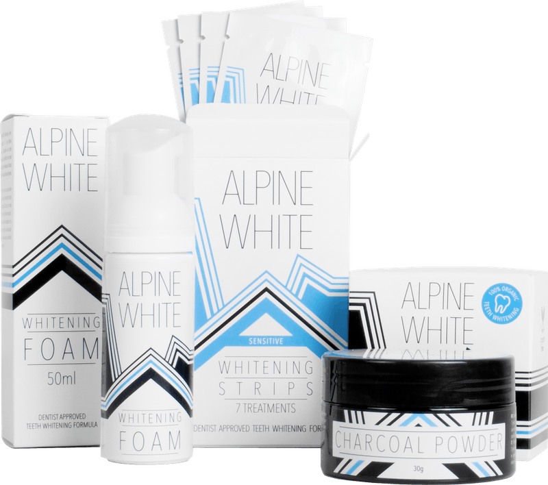 Alpine White Whitening Kit Sensitive Product Shot