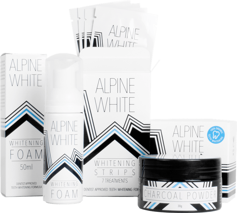 Alpine White Whitening Kit Product Shot