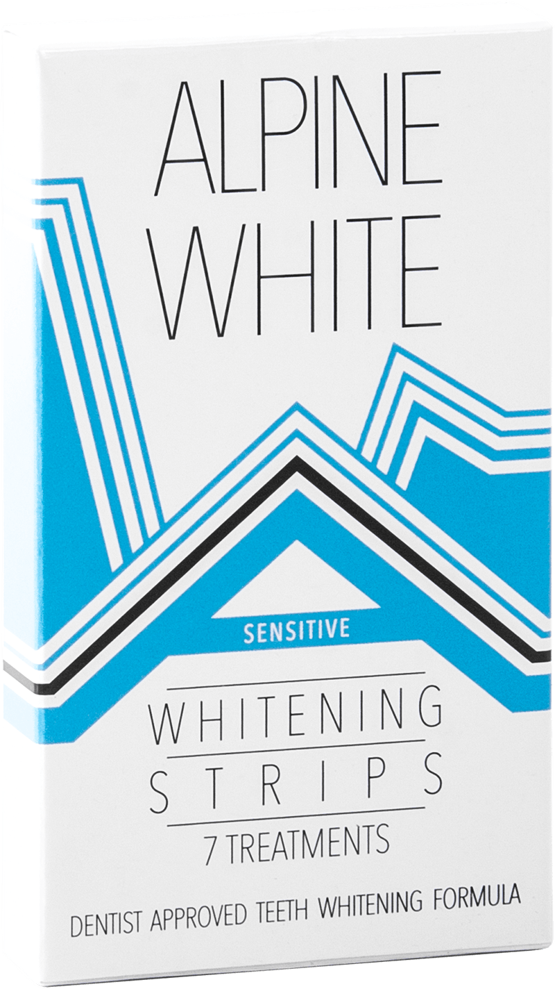 Alpine White Whitening Strips Sensitive Product Shot