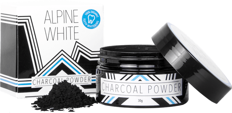 Alpine White Charcoal Powder Product Shot
