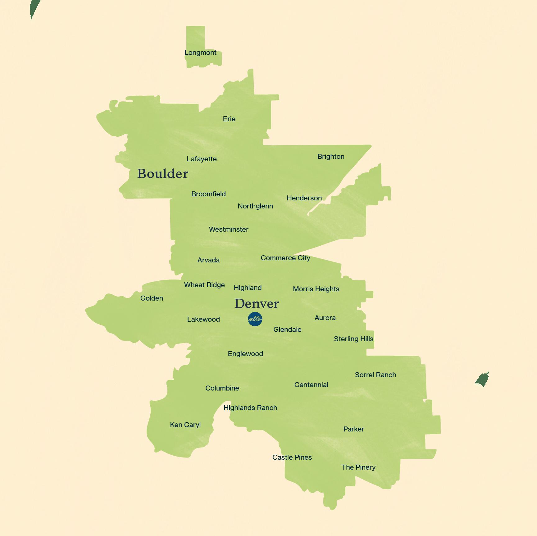 Denver-Boulder Metro Area