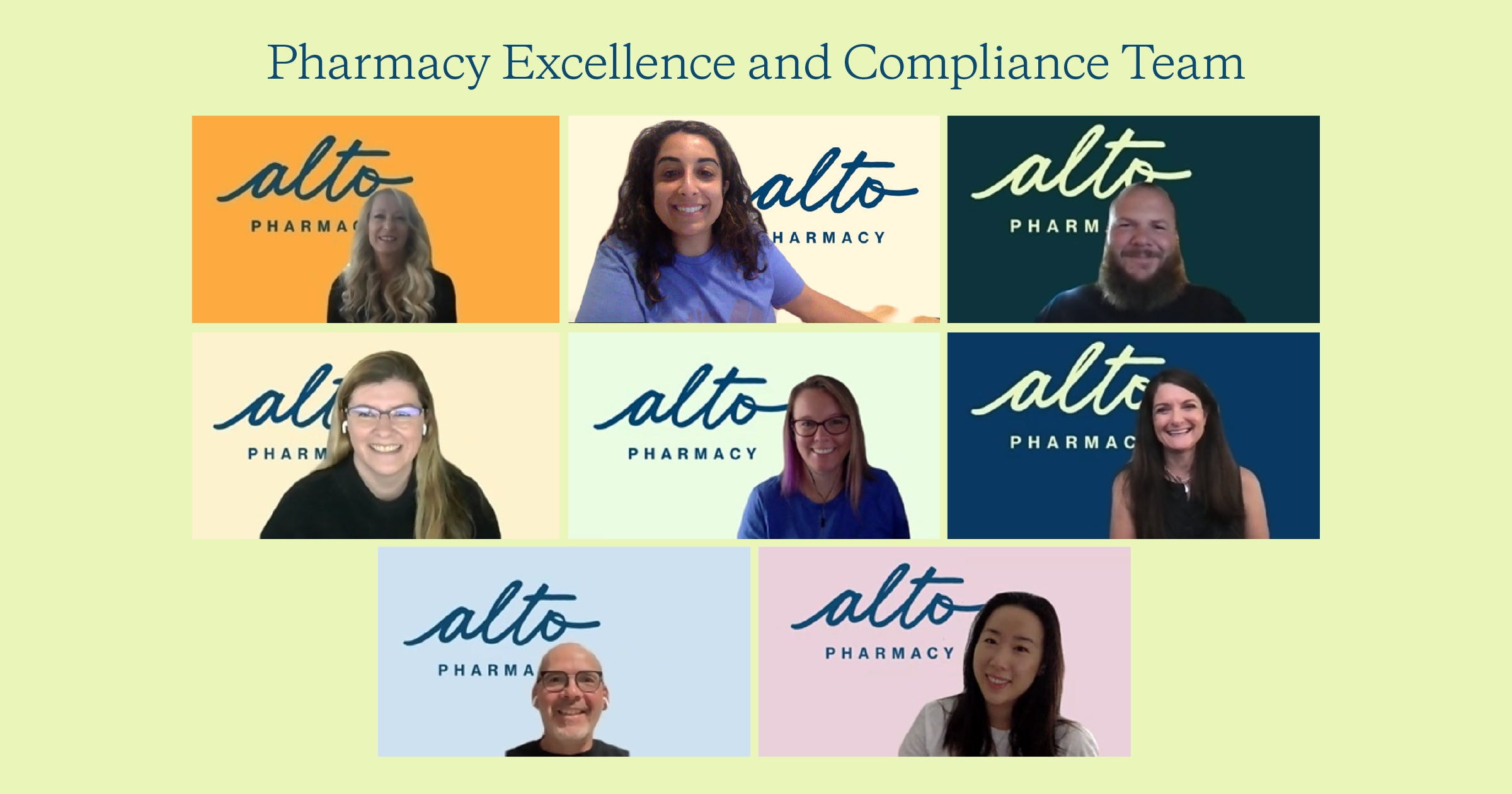 Pharmacy Excellence and Compliance Team