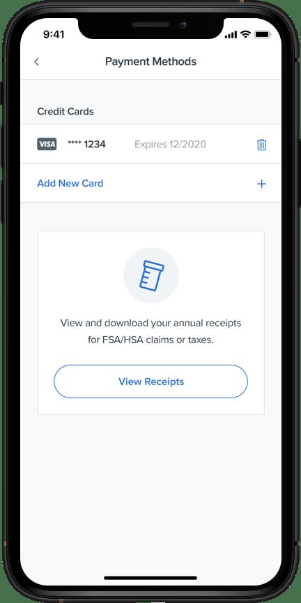 New in the Alto app: download FSA receipts