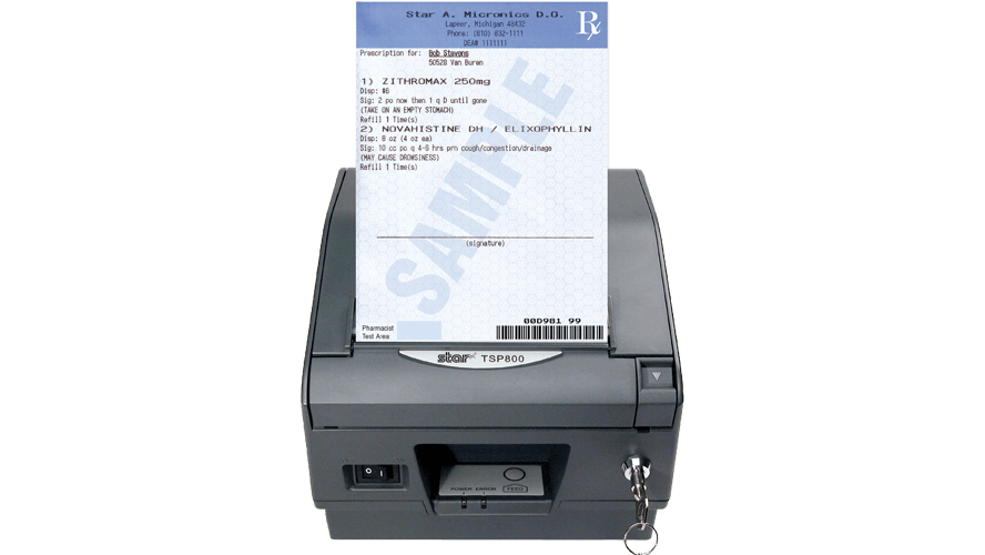 A prescription printer