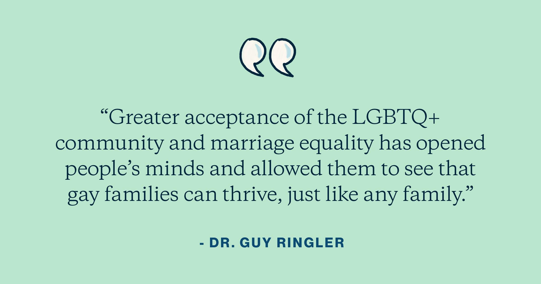 Dr. Guy Ringler quote