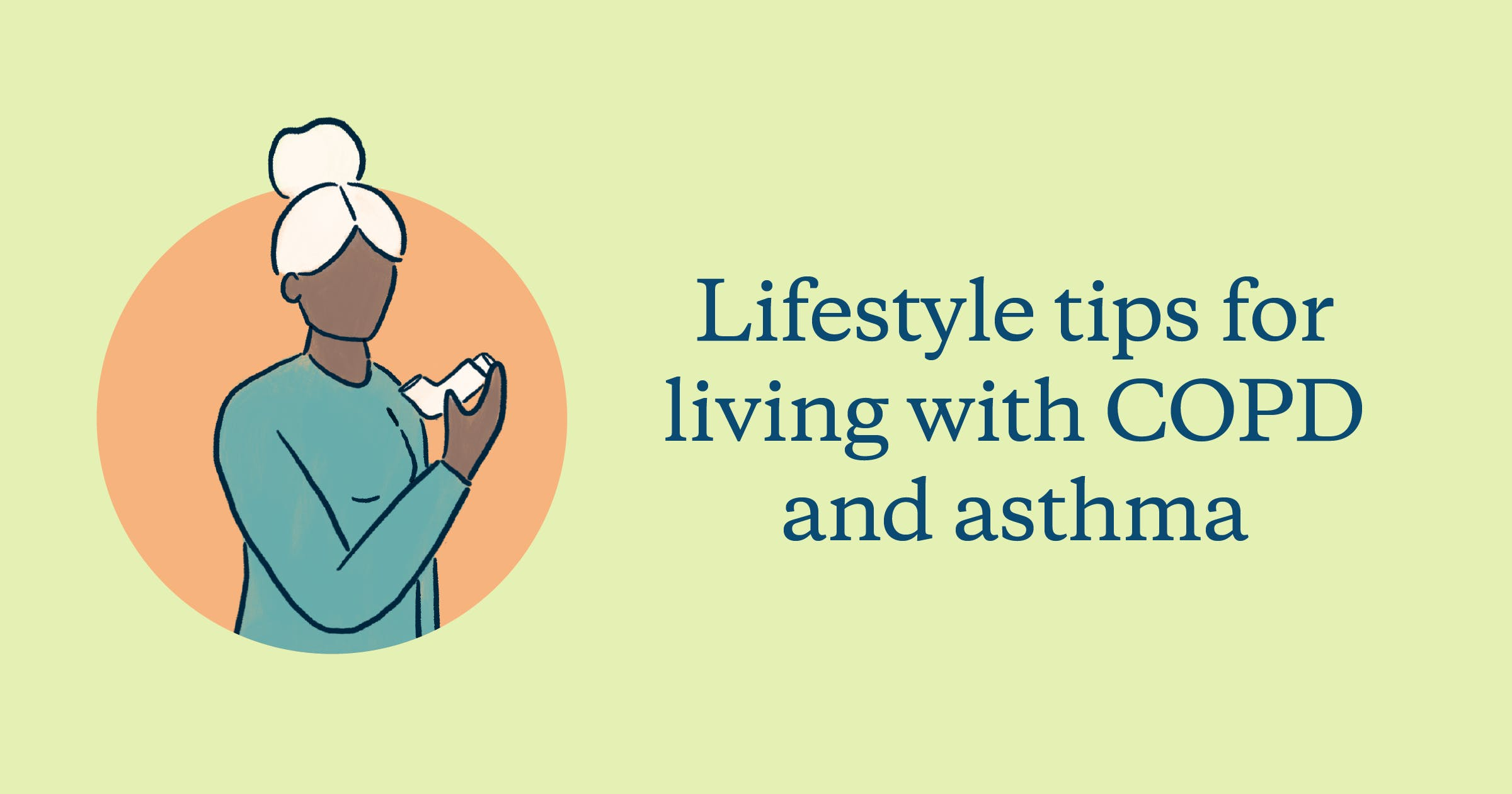 lifestyle tips for living with COPD