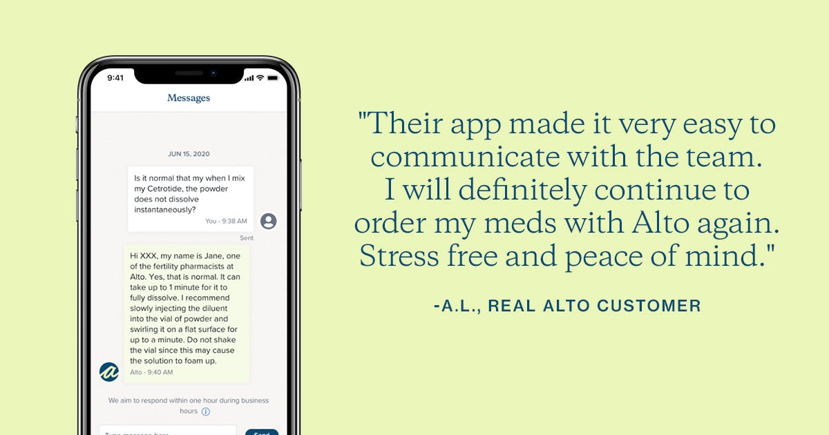 Alto Pharmacy mobile app