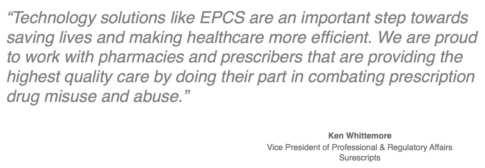 A industry leader's perspective on e-prescribing
