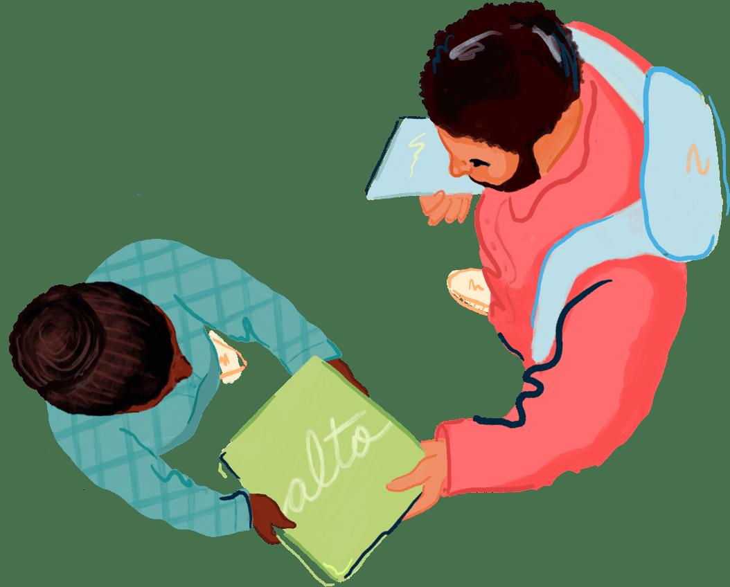 alto free delivery illustration