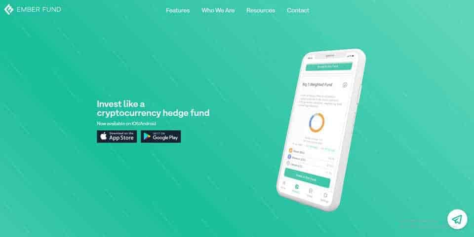 Ember crypto investment platform