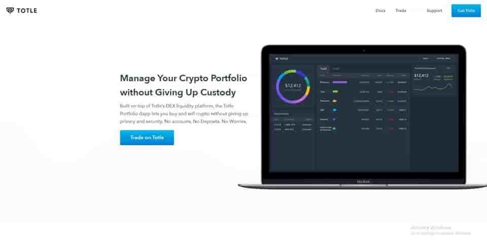 Manage crypto portfolio without giving up custody