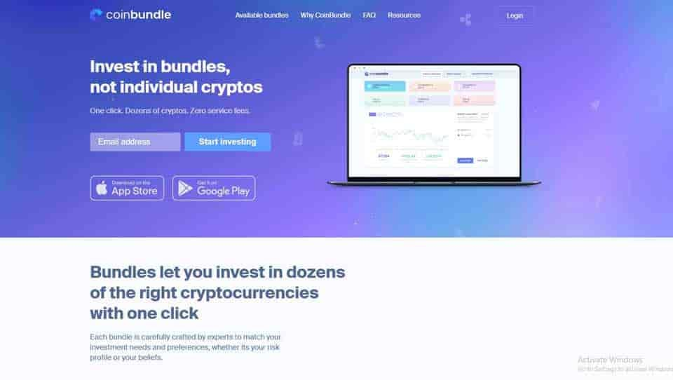 Coinbundle investment crypto