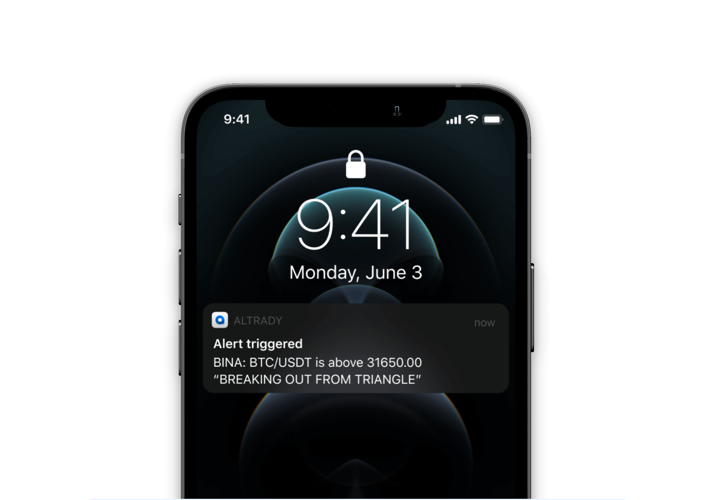 Receive mobile notifications about the alerts