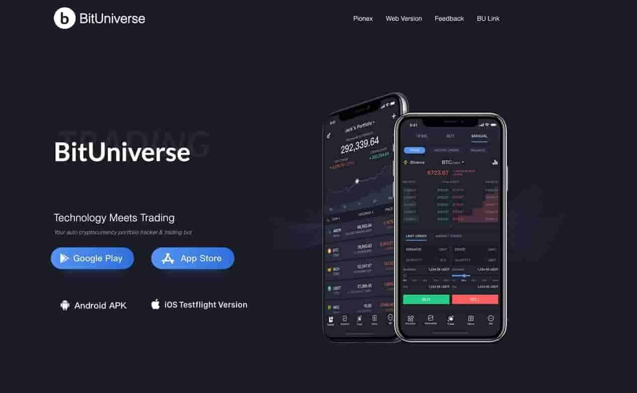 BitUnivers grid trading bot