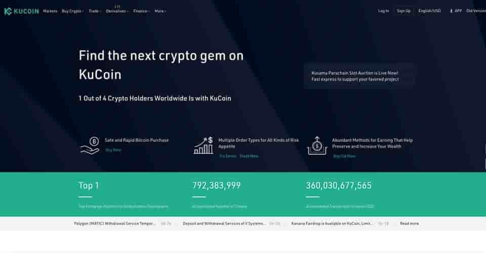 kucoin crypto trading software