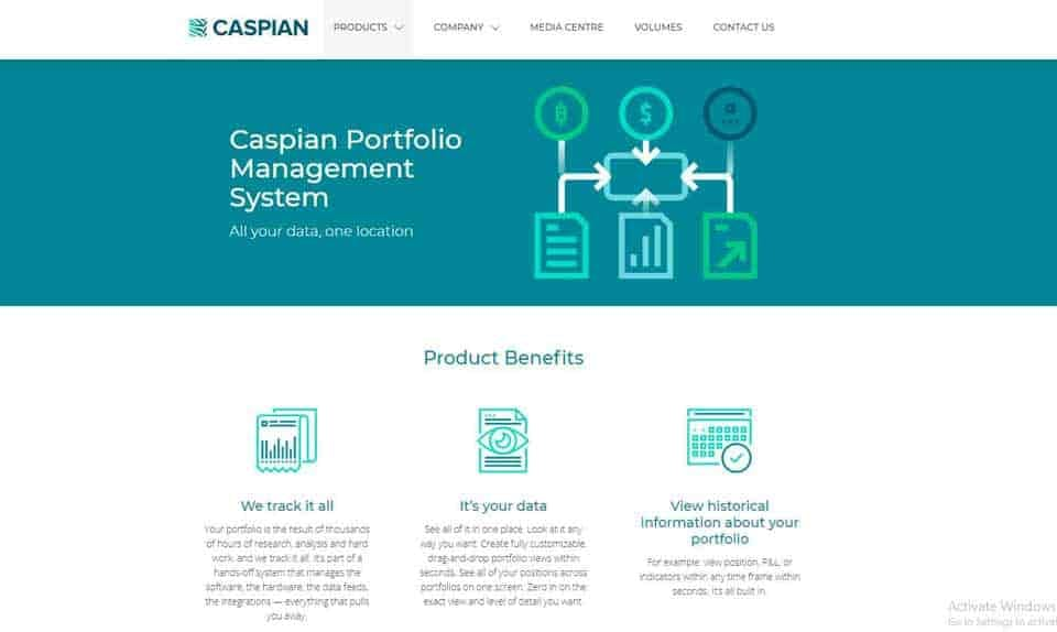 Caspian Portfolio Management System