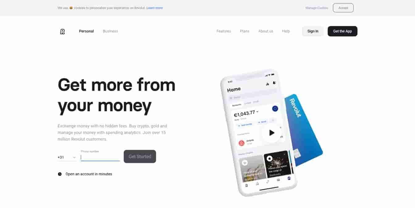 revolut crypto friendly bank