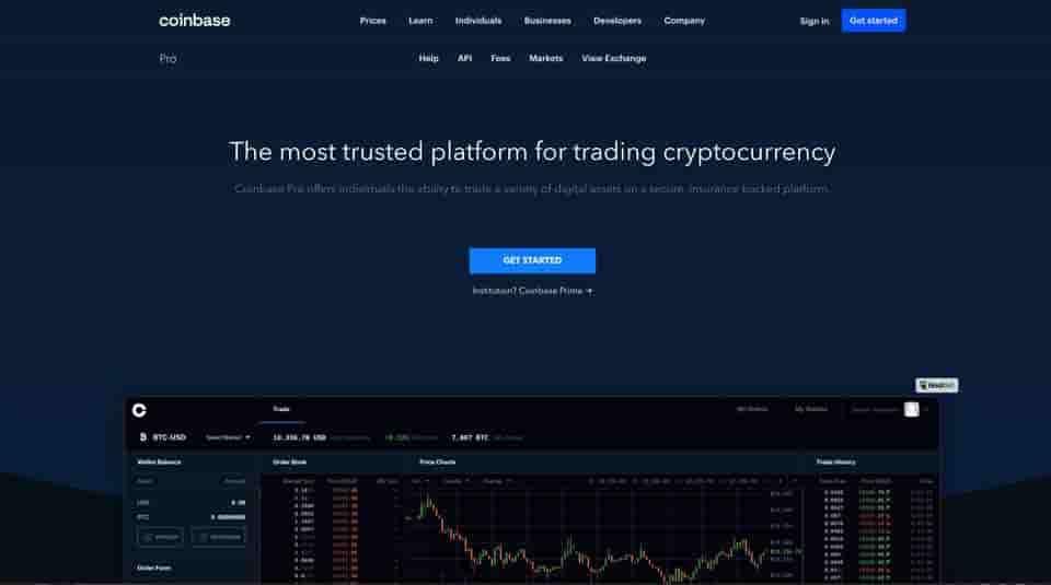 Coinase Pro best crypto trading software platform