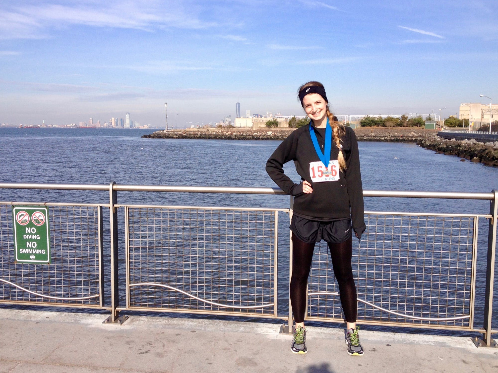 Amanda Kievet's first half marathon