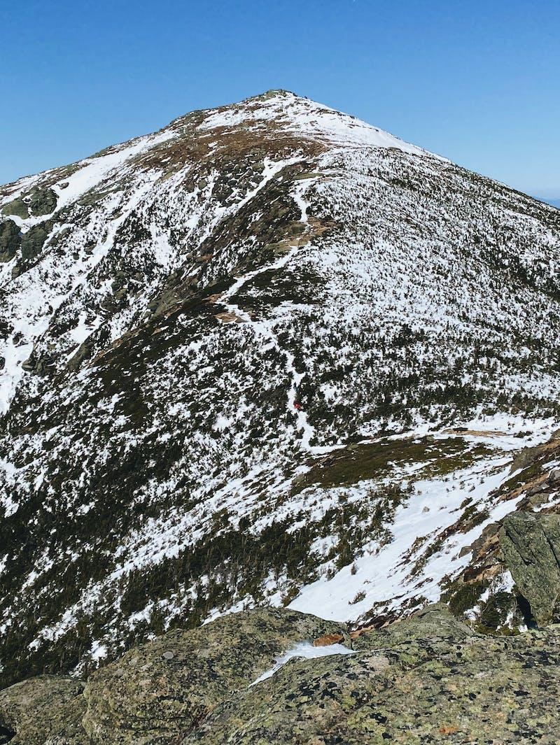 Franconia Ridge in the Sun
