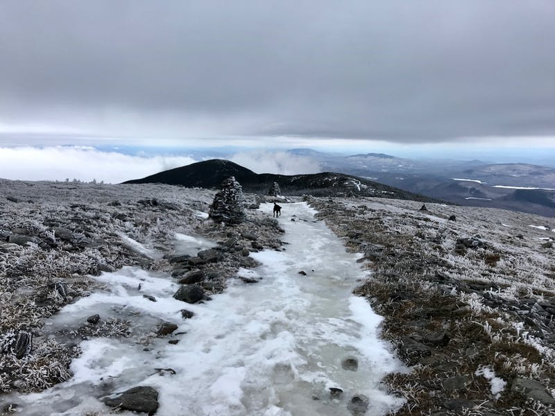 """Spring"" on Moosilauke"