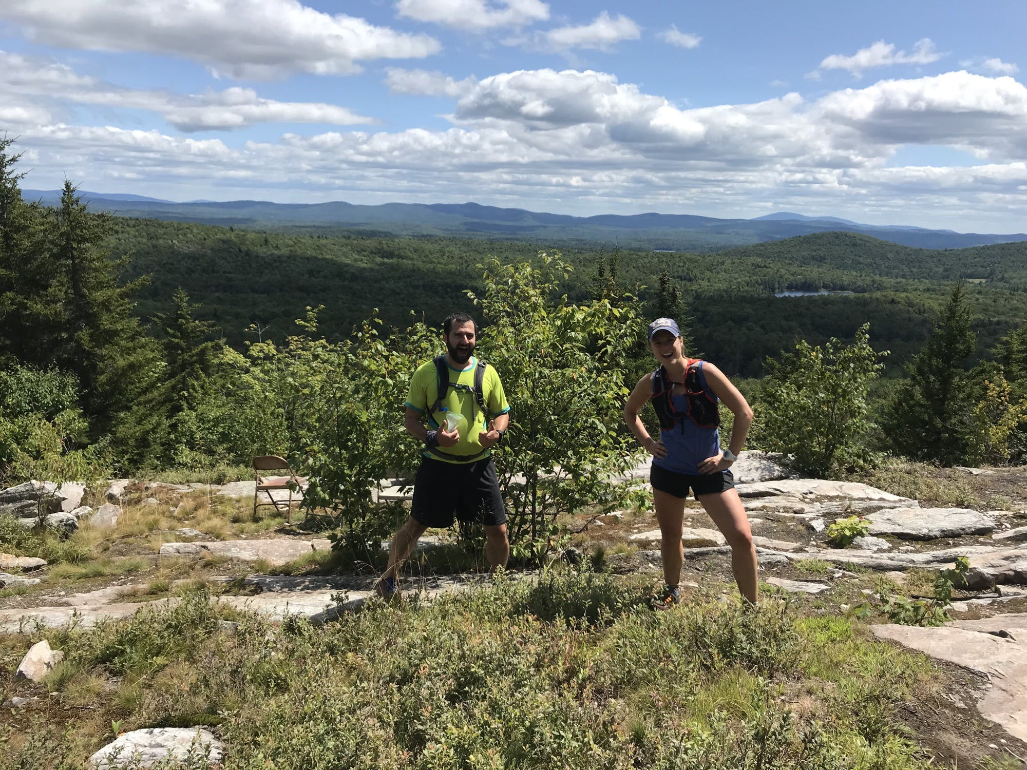 8/11 A 25 miler with Leah and John