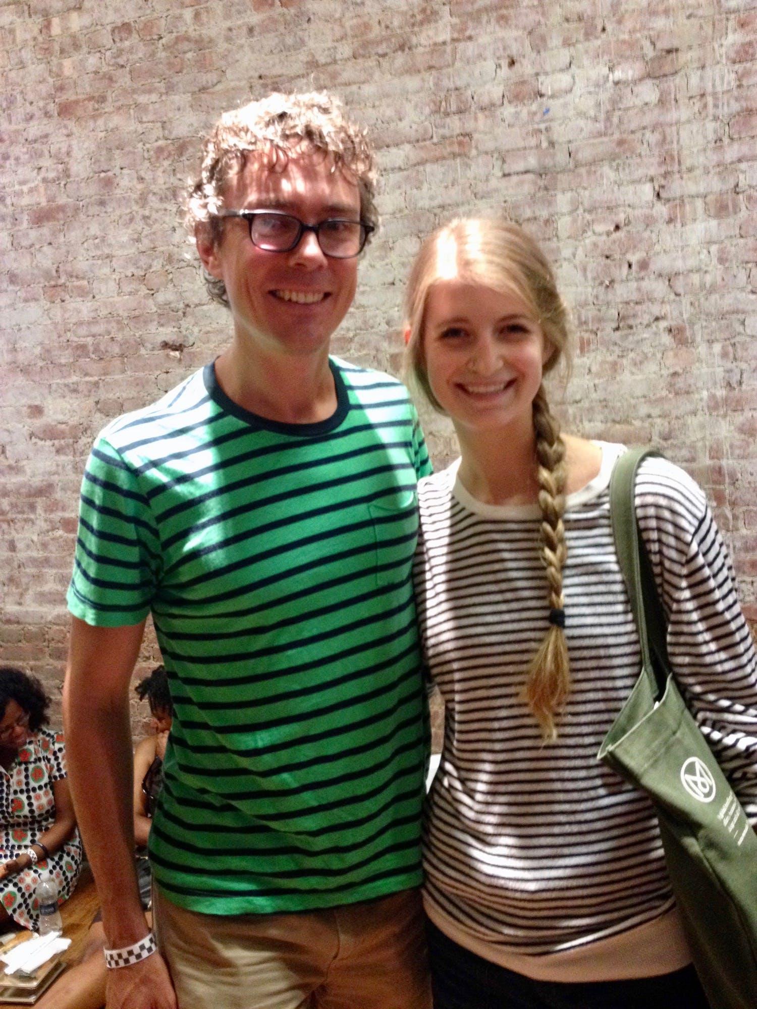 Scott Jurek and Amanda Kievet