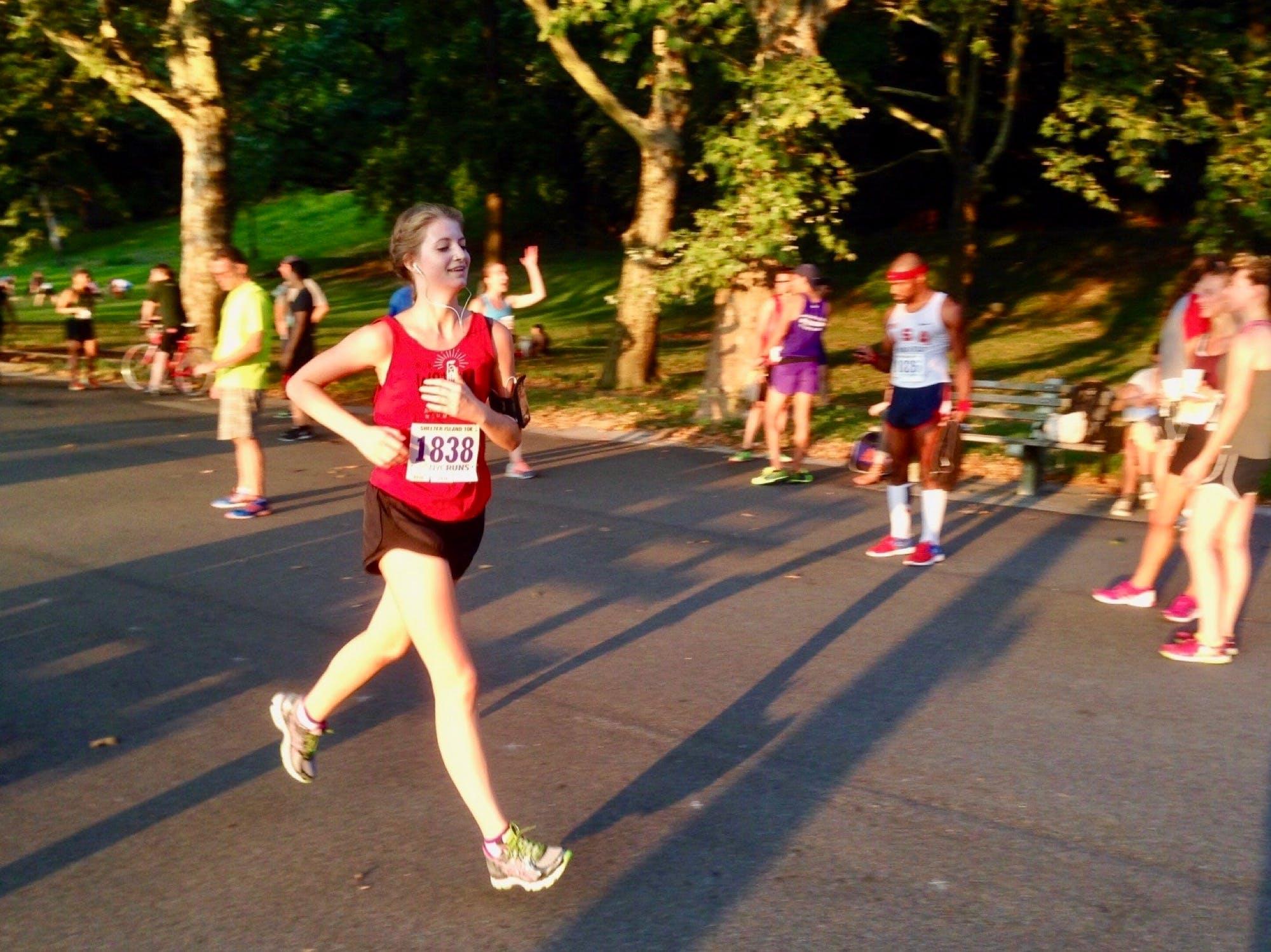 Amanda Kievet's first 5k