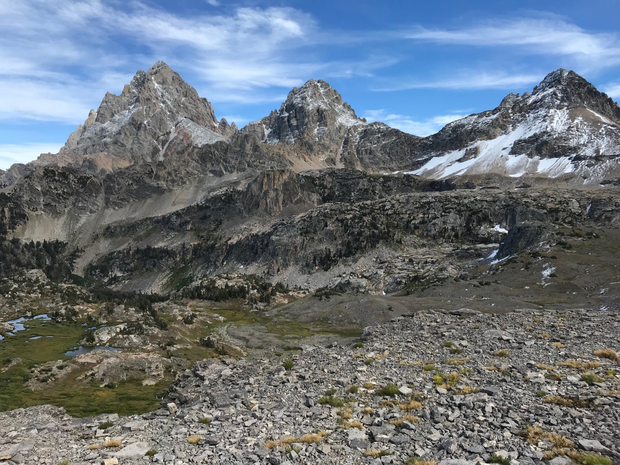 West-facing Grand Tetons looking magnificent