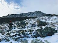 Hiking to Glen Boulder