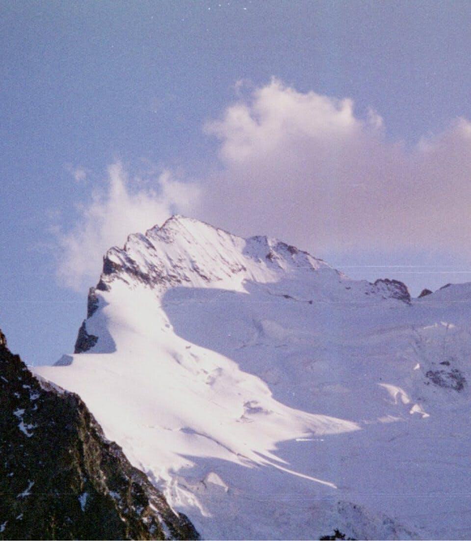 Summit of La Dent Parrachée