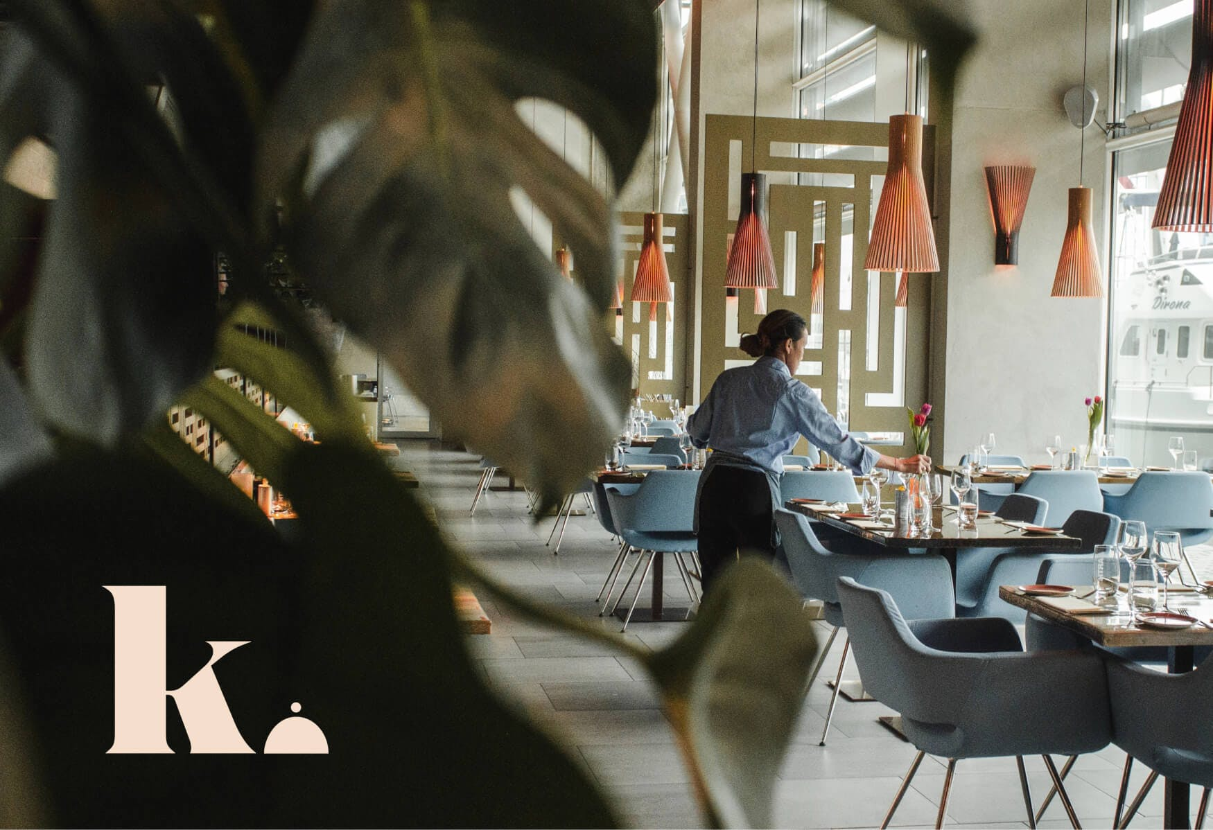 Restaurant and monogram