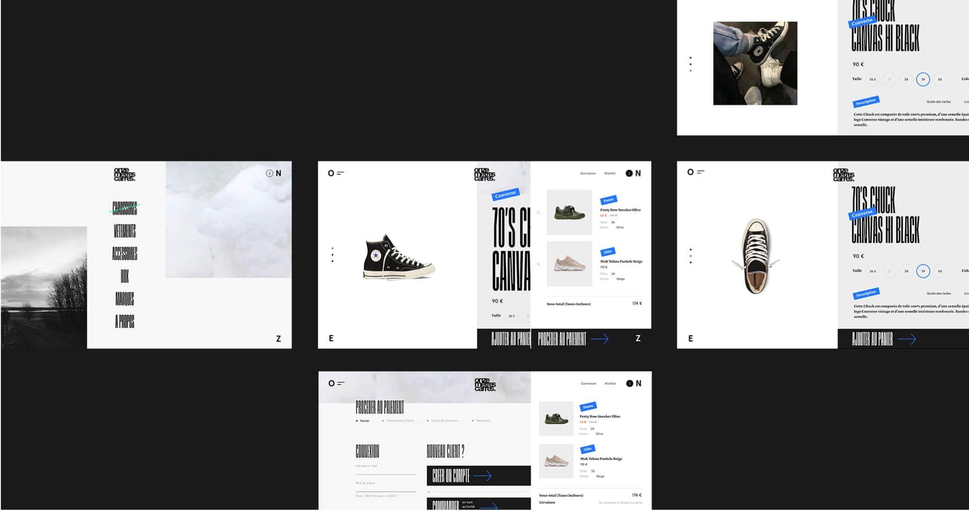 Desktop pages