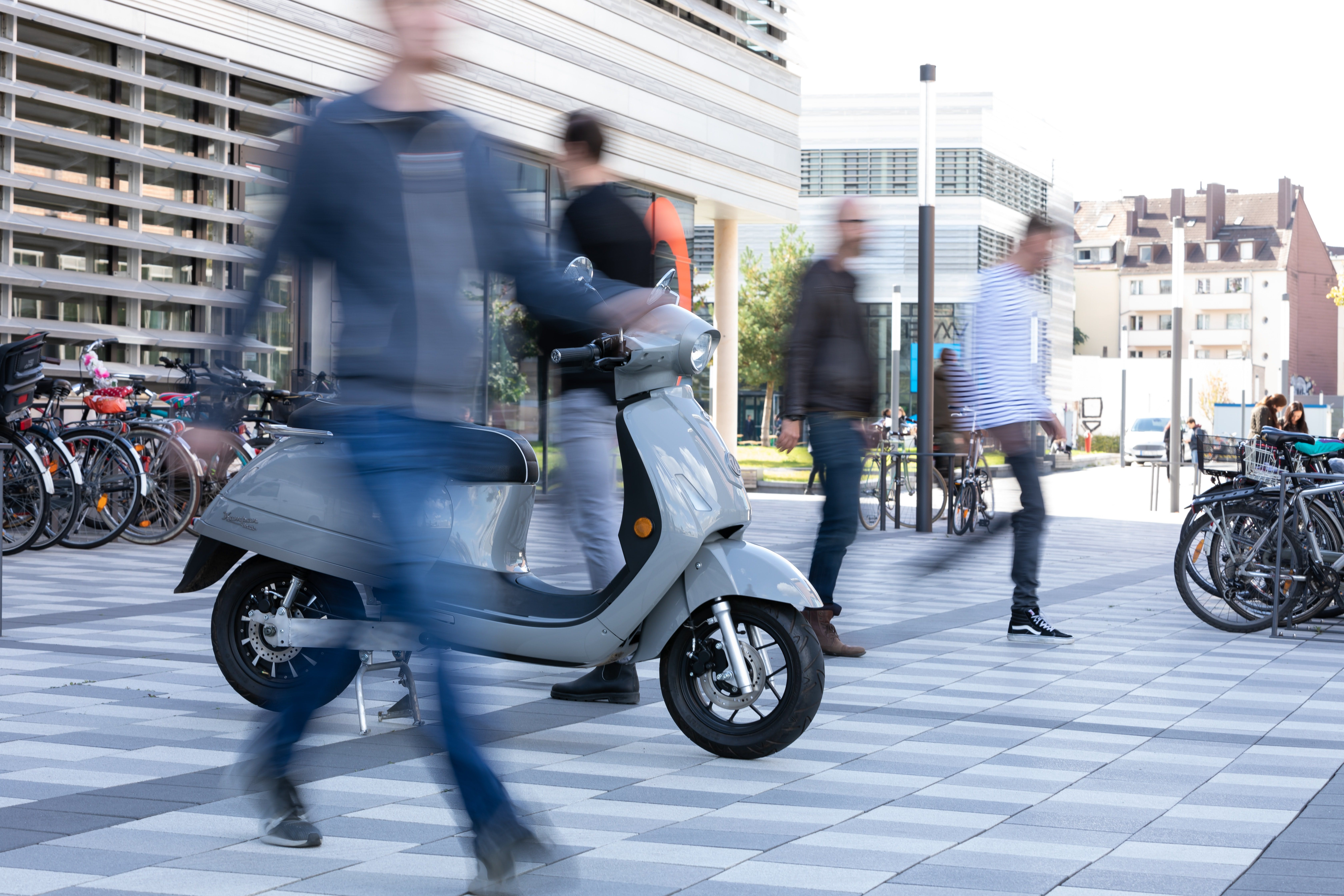 Picture of a scooter