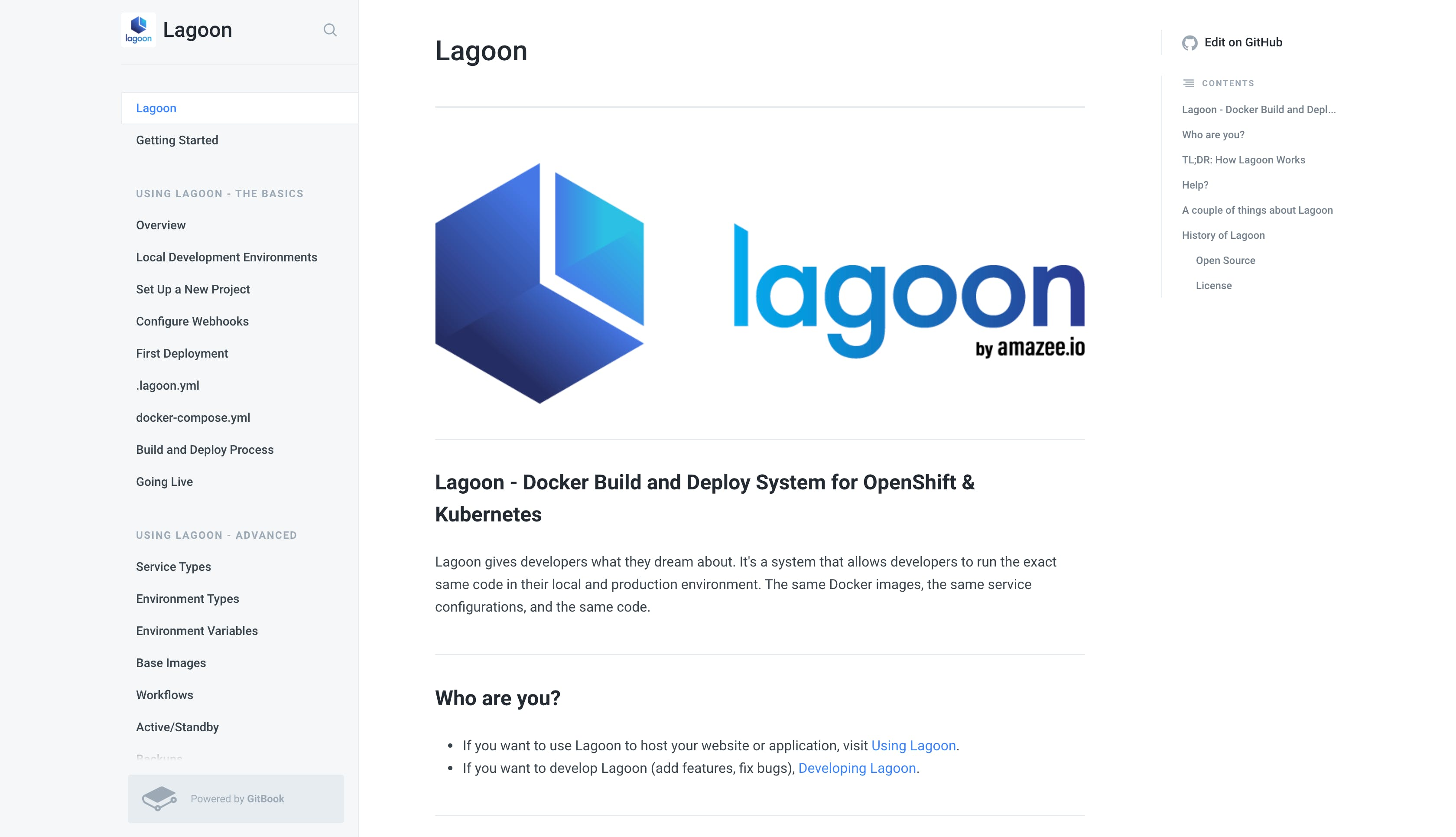 Lagoon Gitbook page.