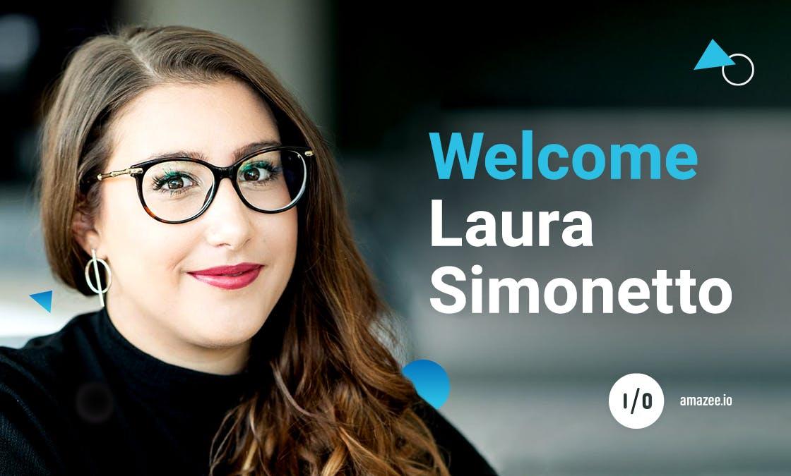 Welcome Laura Simonetto
