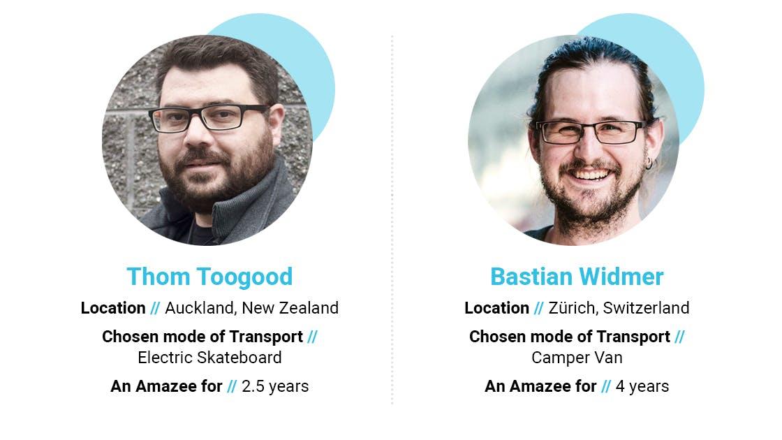 Thom Toogood and Bastian Widmer